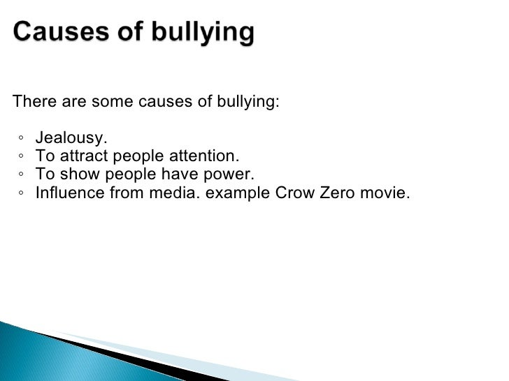 report on bullying in schools essay Free essay on free essay on school bullying available totally free at echeatcom, the largest free essay community.