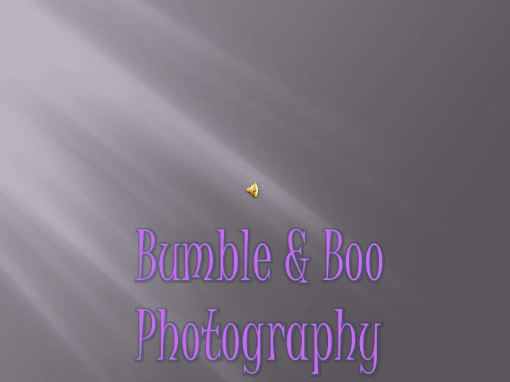 Bumble & Boo<br />Photography<br />