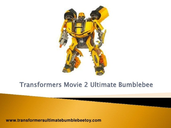 Transformers Movie 2 Ultimate Bumblebee Toy