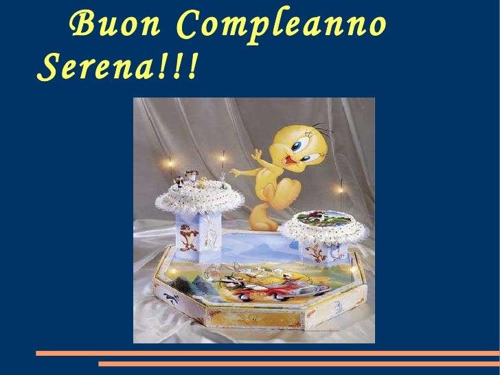 Buon Compleanno Serena!!!