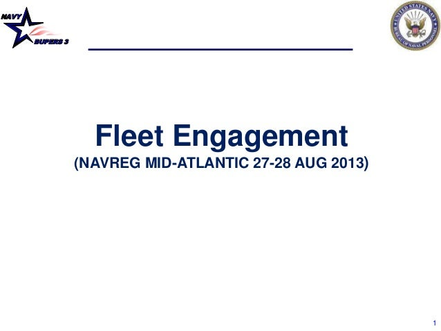NAVY BUPERS 3 1 Fleet Engagement (NAVREG MID-ATLANTIC 27-28 AUG 2013)