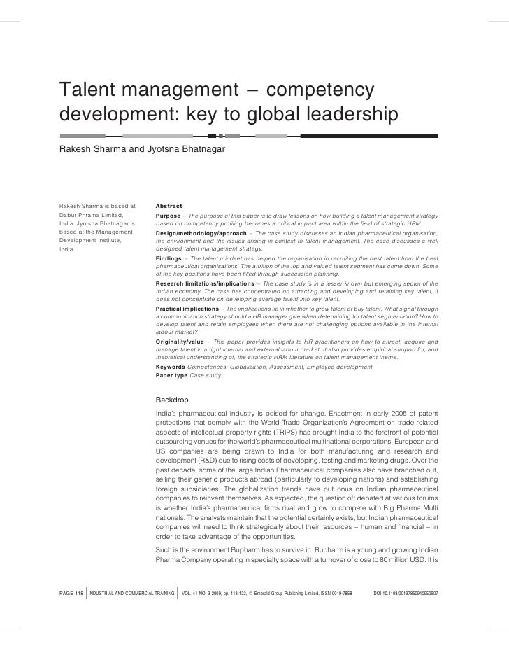 Bupharm talent mgt