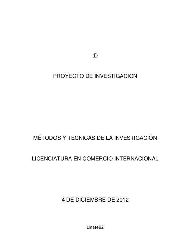 Proyecto de investigacion Lazaro Buques