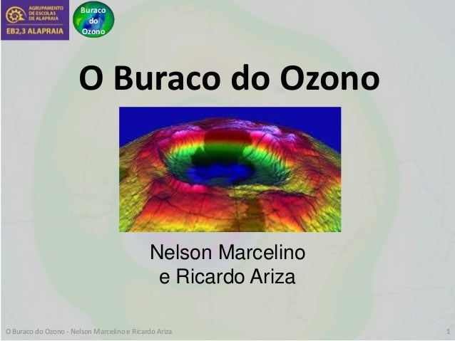 Buraco do Ozono O Buraco do Ozono Nelson Marcelino e Ricardo Ariza O Buraco do Ozono - Nelson Marcelino e Ricardo Ariza 1