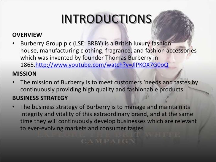 pricing strategy of burberry Burberry's history retailing strategy business model analysis communication strategy pricing strategy brand value the knight logo was created in 1009.