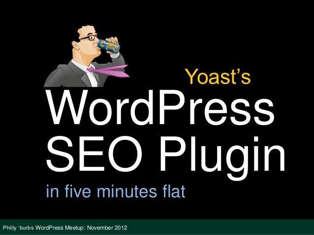 Yoast's WordPress SEO Plugin