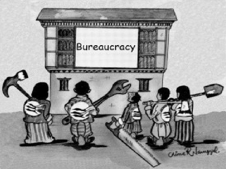 Bureaucracy     --Why do bureaucracies grow and      how can they be controlled?