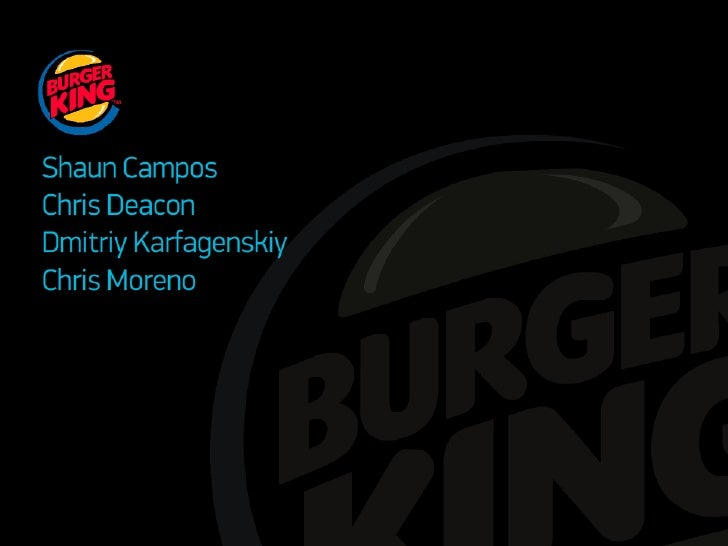 burger king case study marketing Case study burger king buzz marketing helped burger king step their game up since a reader to get some basic idea about case 9 10 study and i.
