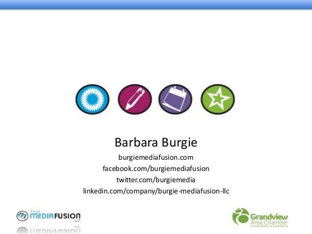 Burgie media-fusion-slides