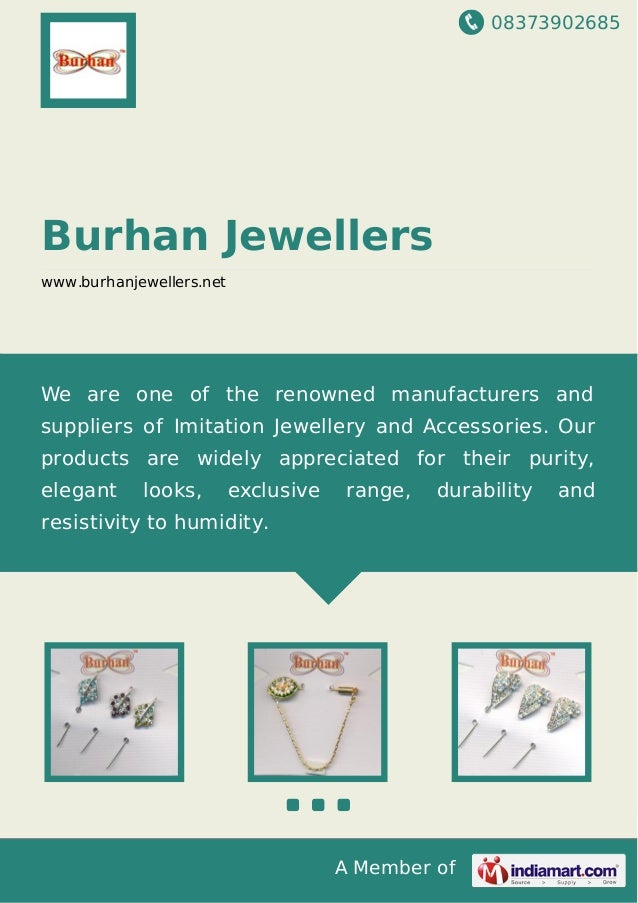 08373902685 A Member of Burhan Jewellers www.burhanjewellers.net We are one of the renowned manufacturers and suppliers of...