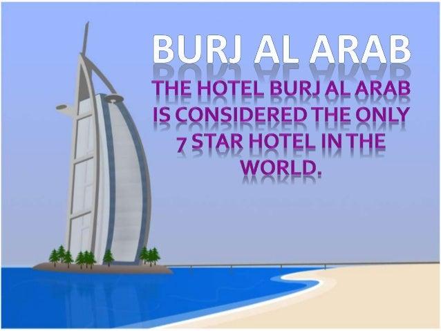 Burj al arab- techonoly homehork