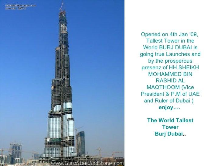Burj Dubai / המגדל בדובאי