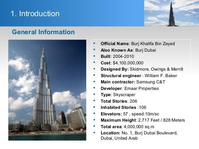 Skyscraper Floors Breakdown Burj Khalifa Skyscraperpage