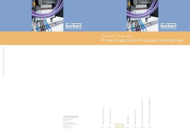 อุปกรณ์ นิวเมติกส์ Burkert - นิวเมติก.com