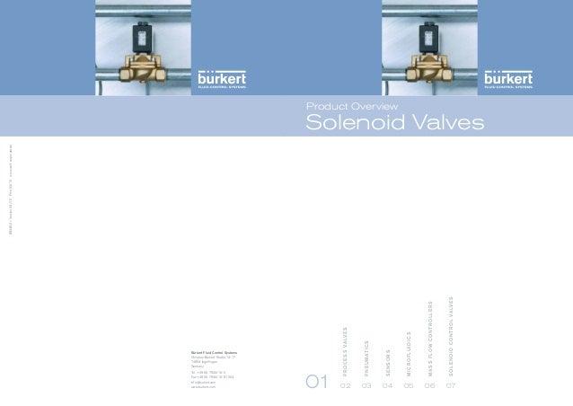 Burkert Solenoid Valves - นิวเมติก.com