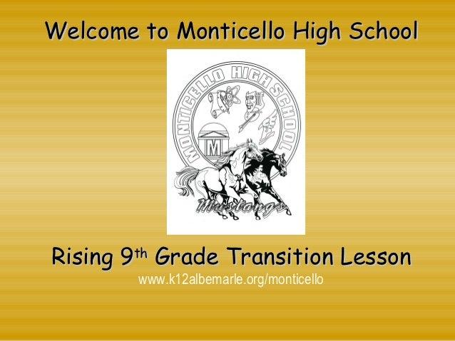 Monticello High School Powerpoint