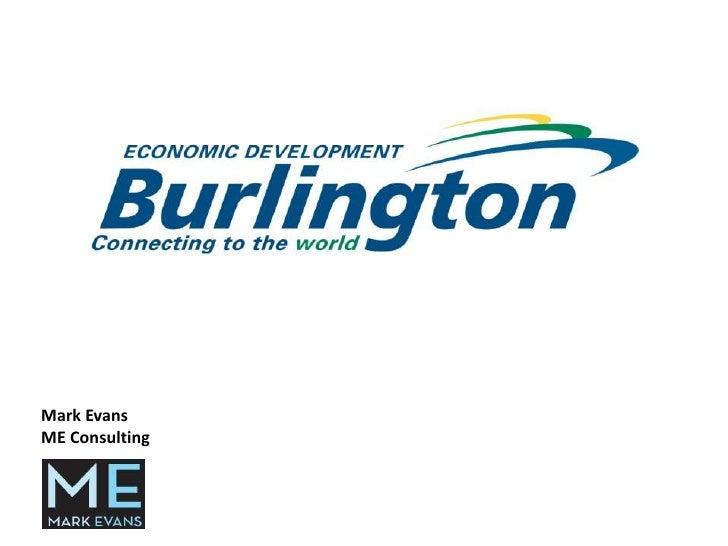 Burlington Economic Development Corp. Presentation