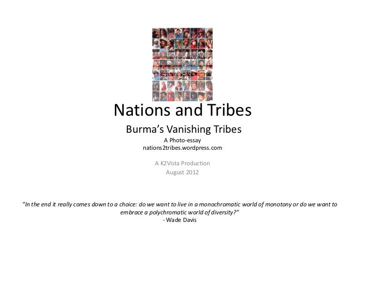 Nations and Tribes Burma
