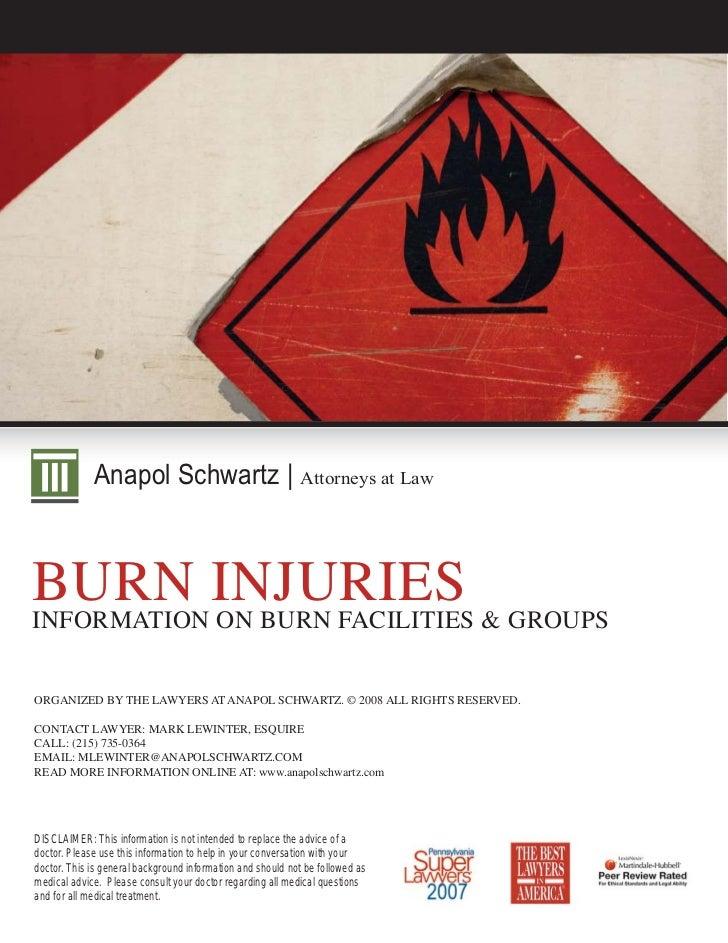 Burn Injury Resources