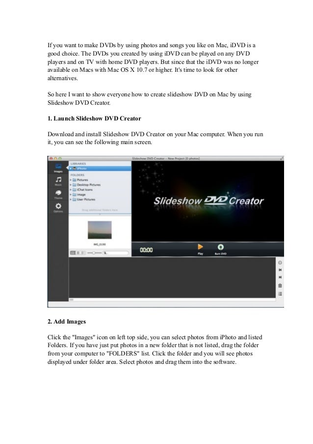 Burn slideshow-to-dvd-on-mac