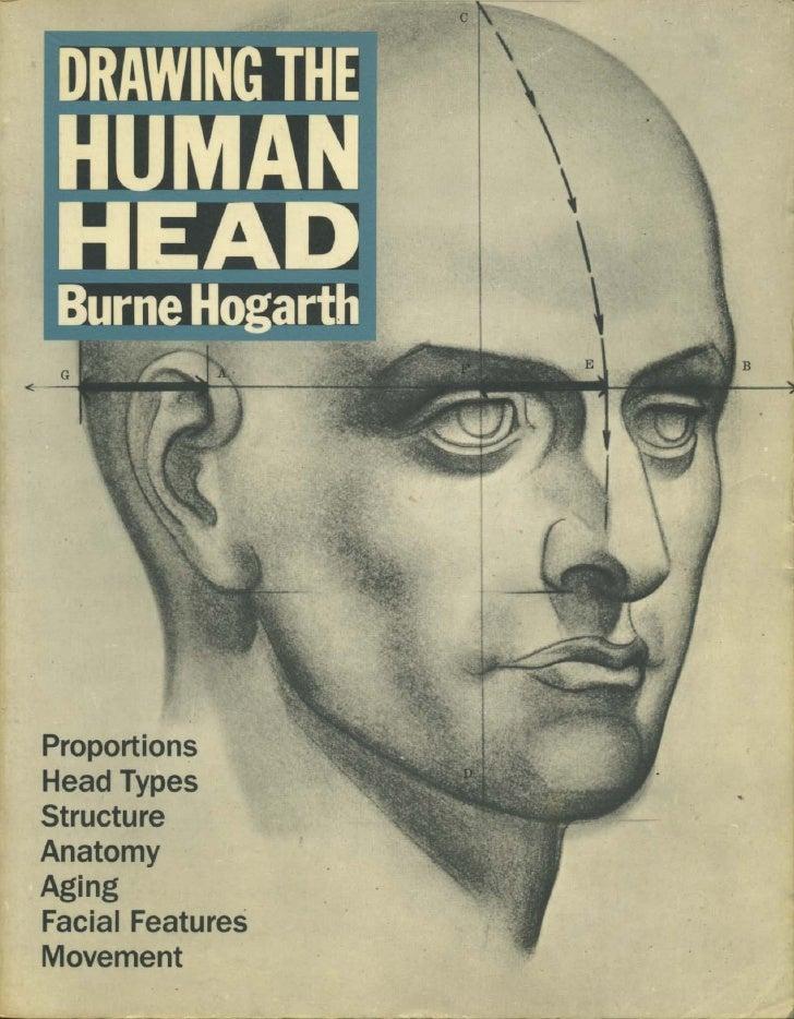 рисунок голова человека