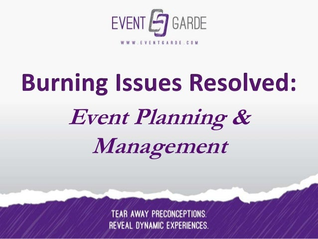 Event Planning & Management