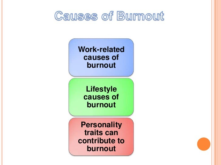 causes and prevention of burnout Achievement, depersonalization, prevention of burnout syndrome, phases of   the diploma thesis focuses on burnout syndrome and its symptoms, phases,.
