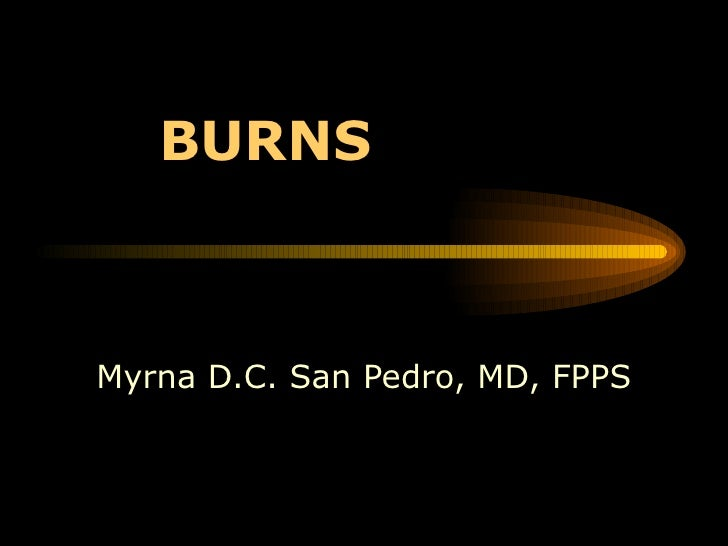 BURNS Myrna D.C. San Pedro, MD, FPPS
