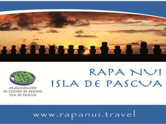 Organización de gestión de destino                    isla de pascua