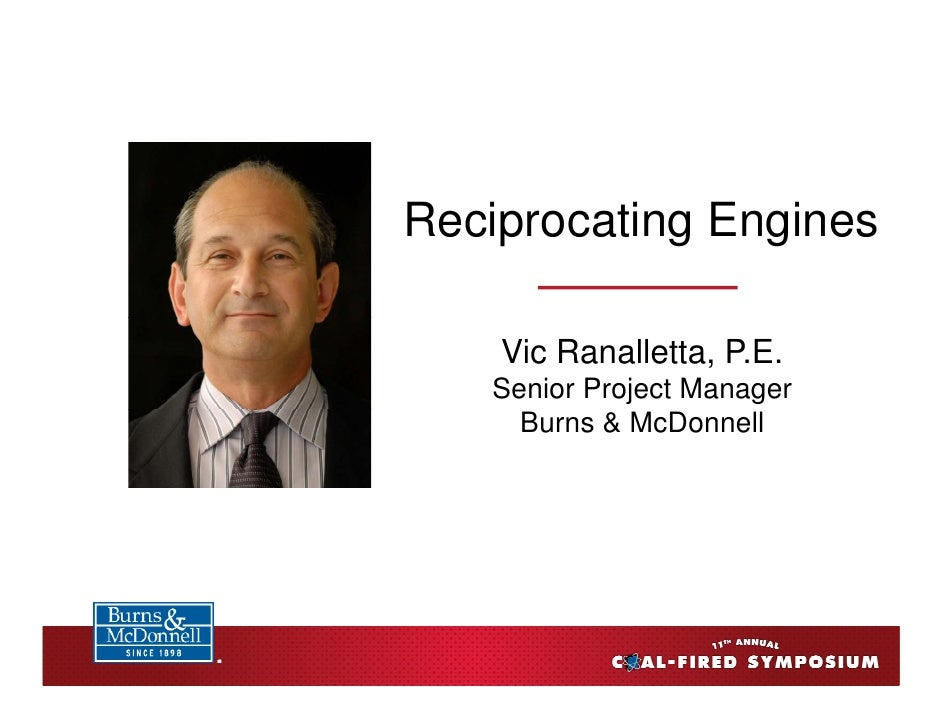 Burns Mc Donnell coal symposium recip engines