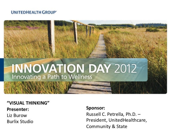 Visual Thinking Presentation for UnitedHealth Innovation Day