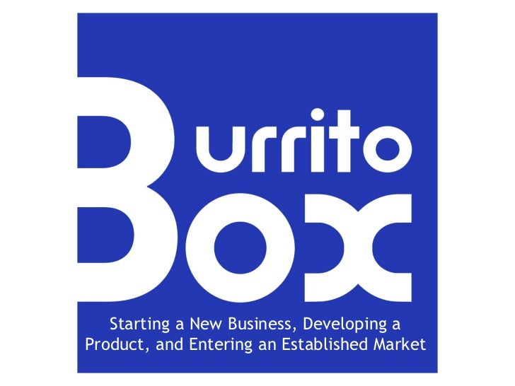 Starting a New Business, Developing a Product, and Entering an Established Market