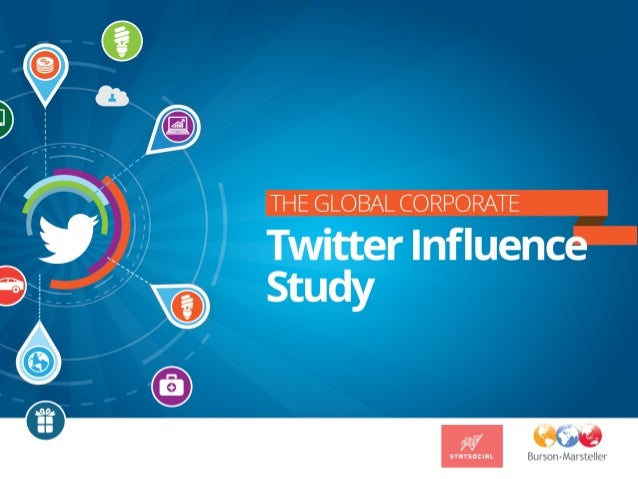 Methodology Data was collected by StatSocial in September and October 2013 based on the followers of the top Twitter accou...