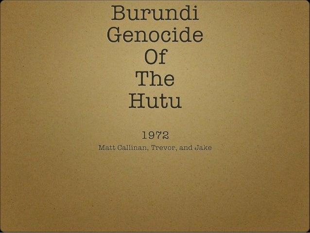 Burundi matt