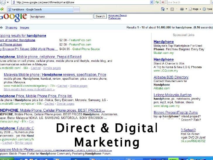 Direct & Digital Marketing