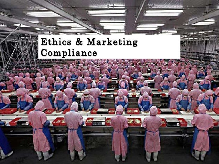 Ethics & Marketing Compliance