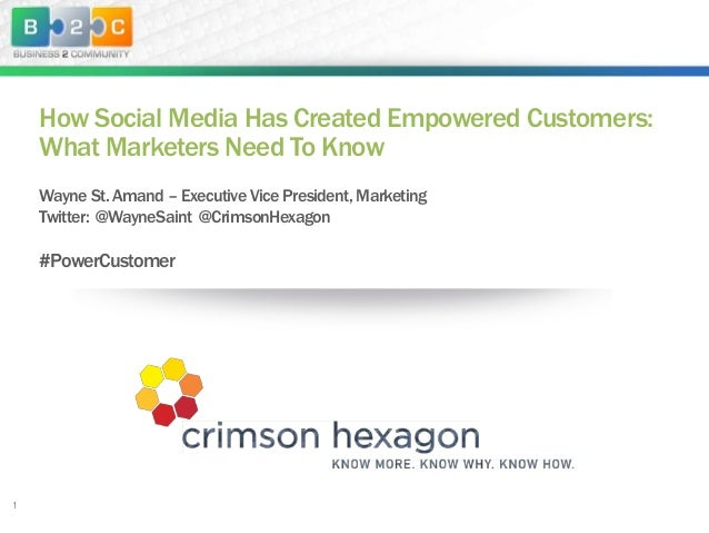 How Social Media Has Created Empowered Customers: What Marketers Need To Know