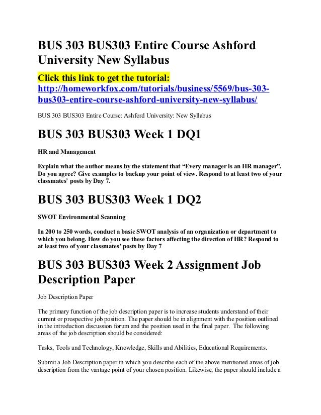 reflection paper for bus 303 Bus 303 paper – human resource management by student simple human resource management bus 303: this paper will be a reflection on what i.