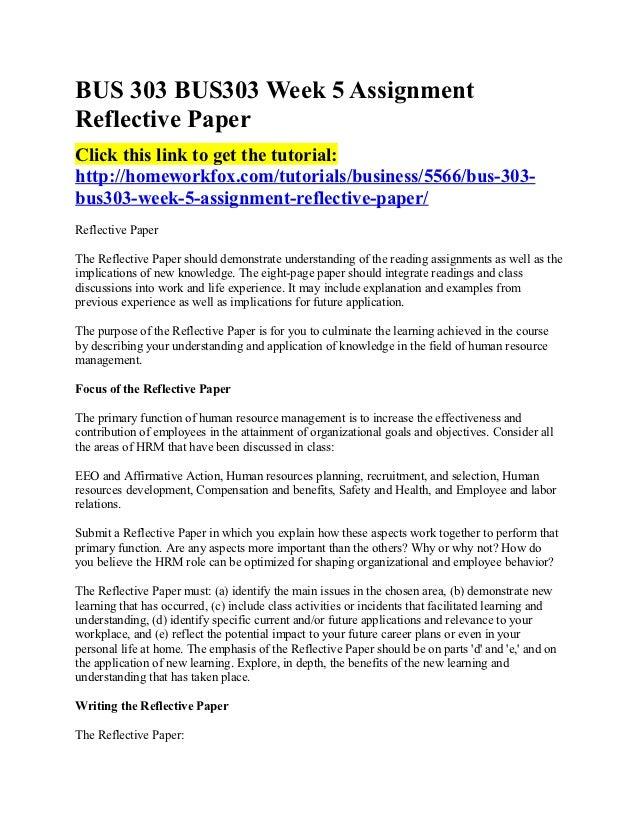 Sample of reflective essay apa format