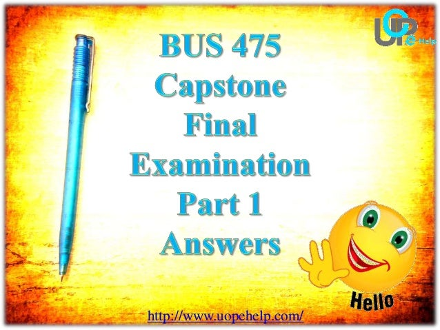bus final exam answer 1 Acct 212 final exam 100% correct answer (tco 1) to evaluate the financial operation and health of a business ratio analysis is used (1) provide the formula for the acid-test (or quick.