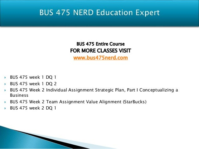 final individual assignment bus 475 Business model and strategic planning outline as a guide, combine parts 1, 2, and 3 of your completed business model strategic plan with your final business plan model assignment and executive summary.