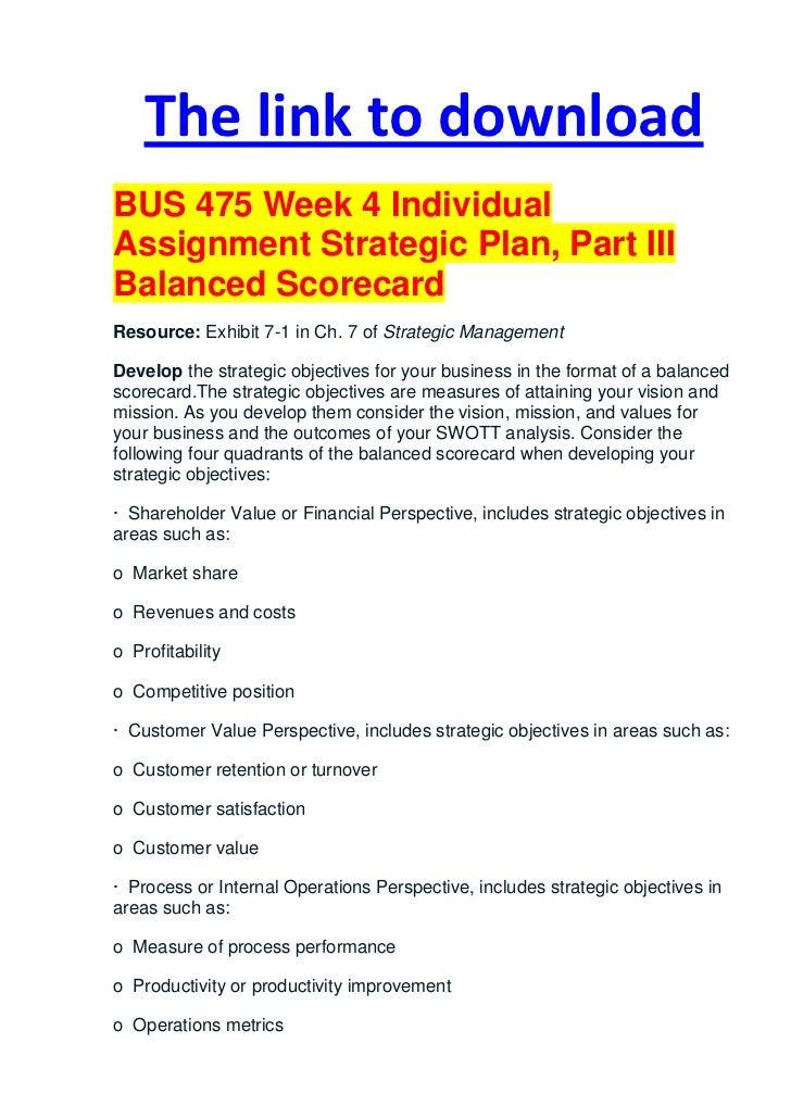 balance scorecard essay Balanced scorecard basics what companies should measure in order to 'balance' the financial the balanced scorecard suggests that we view the organization.