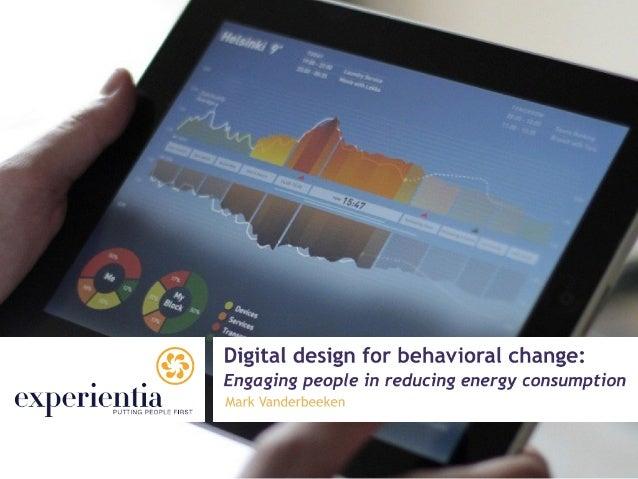 Design Center Busan - Behavioral change