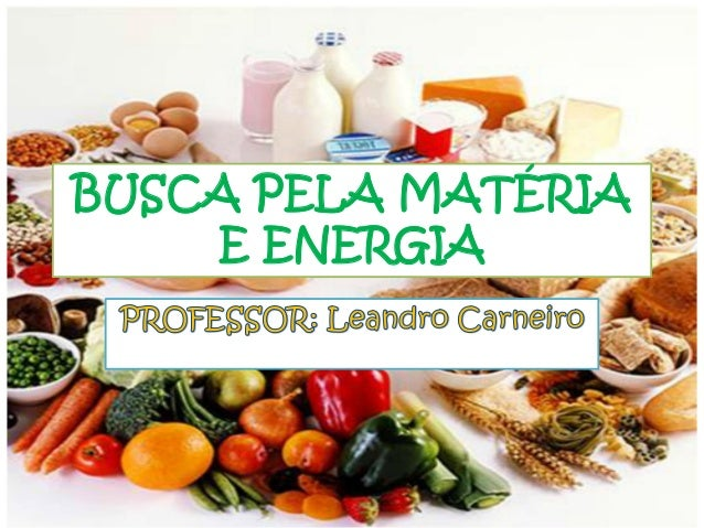 BUSCA PELA MATÉRIA E ENERGIA