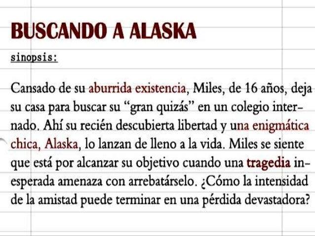 buscando a alaska exposicion