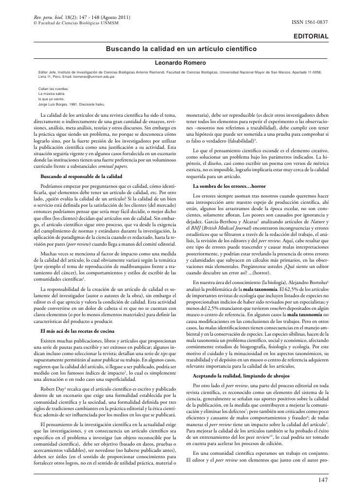 Rev. peru. biol. 18(2): 147 - 148 (Agosto 2011)© Facultad de Ciencias Biológicas UNMSM                                    ...