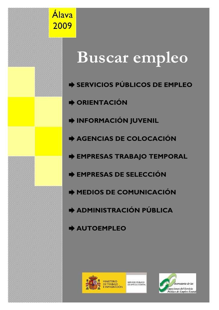 Buscar Empleo 2009