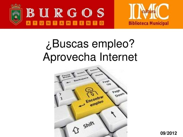¿Buscas empleo? Aprovecha Internet