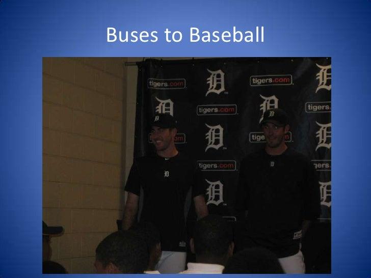 Buses for baseball