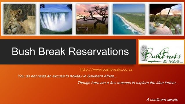 Any excuse will do to holiday in Africa with Bush Break Reservations!